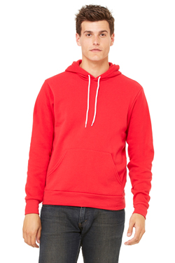 Canvas Unisex 7.0 Ounce Poly-Cotton Fleece Pullover Hoodie