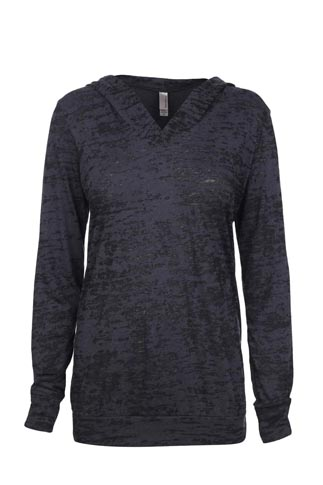 Next Level Ladies 3.7 Ounce Burnout Hoody