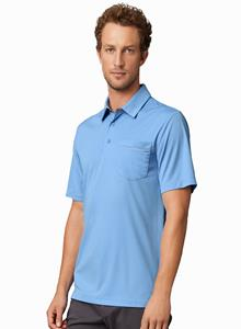 Prim + Preux Adult 4.4 ounce Dynamic Pocket Polo