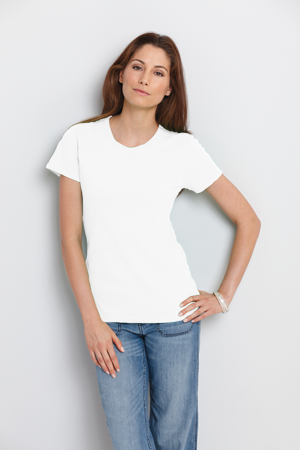Gildan® Ladies' 5.3 Ounce Heavy Cotton™ T-Shirt